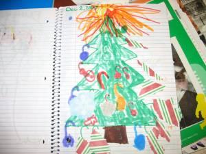 The Christmas tree page