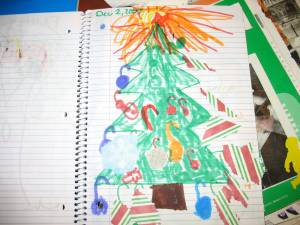 The Christmas tree page